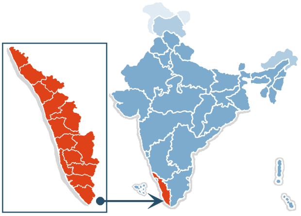 India_map_kerala